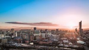 Manchester City Centre Cityscape