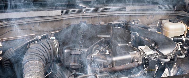 Van Engine Overheating?